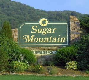 Sugar Mountain Resort Cropped Sign