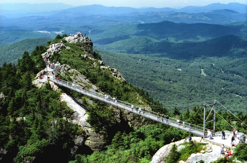 Hike In Grandfather Mountain State Park Nc Dereka S