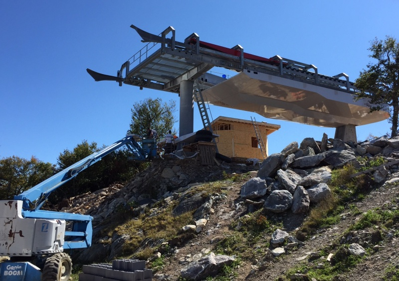 New Sugar Mountain High Speed Lift Nears Completion