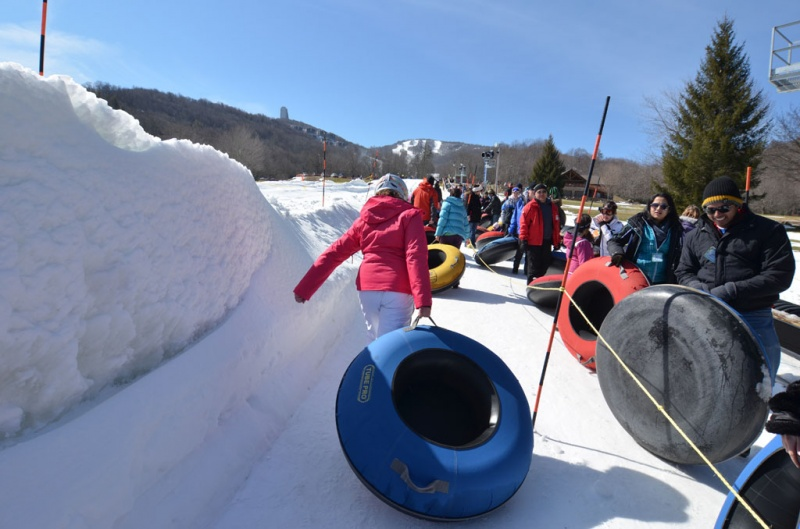 snow tubing sugar mountain nc