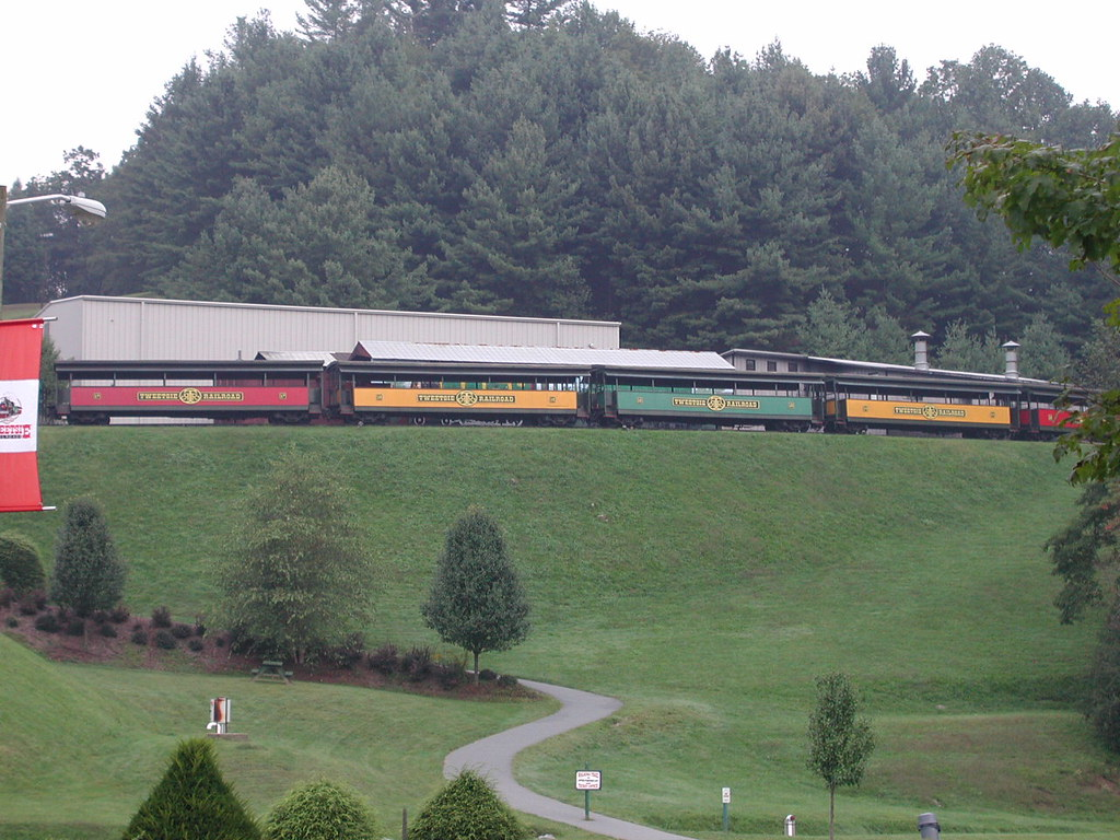 Tweetsie Railroad in Blowing Rock, North Carolina.